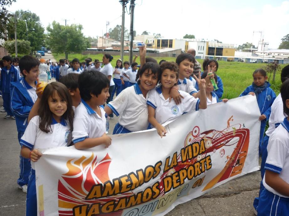 Inauguración juegos deportivos 2009 -