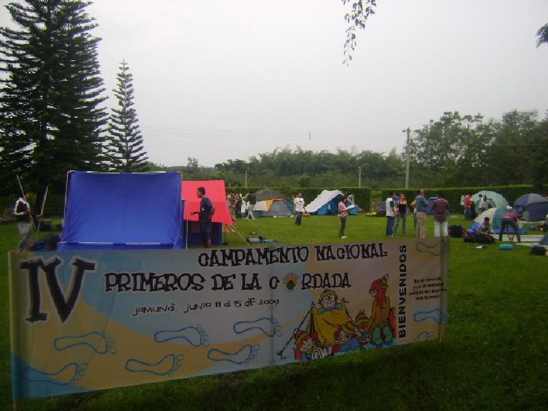 IV Campamento Nacional Primeros de la Cordada - Junio 2009