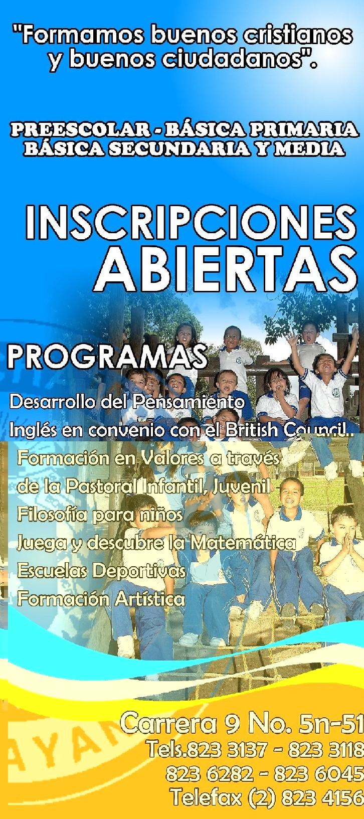 INSCRIPCIONES AÑO LECTIVO 2010-2011