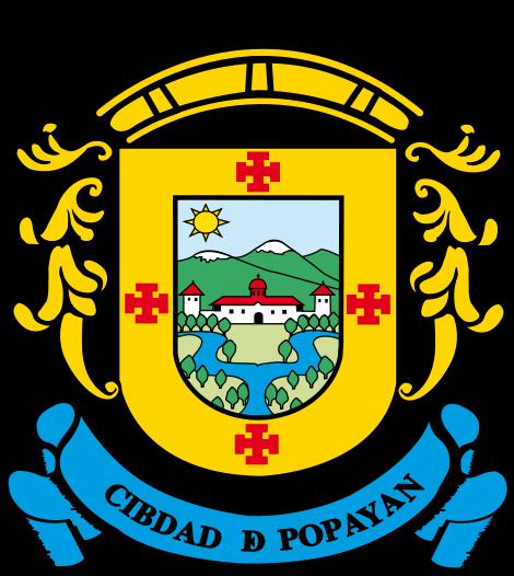 ESCUDO DE LA MUY NOBLE Y MUY LEAL CIUDAD DE POPAYÁN  EN SU MAXIMA CATEGORÍA - ORO,  A LA COMUNIDAD DE HERMANOS MARISTAS