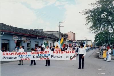 CENTENARIO MARISTA EN POPAYAN - 1989